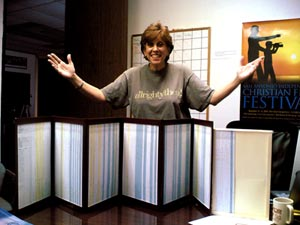 Nikki finishes Production Boards