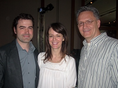 Ron Livingston and Rosemarie DeWitt